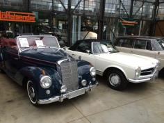 Mercedes Benz 220A Cabrio: Год выпуска: 1951 Двигатель: 80 л.с. Цена: 138 000 евро Mercedes Benz 280SL Год выпуска: 1969 Двигатель: 170 л.с., 2.75л Цена: 58 800 евро