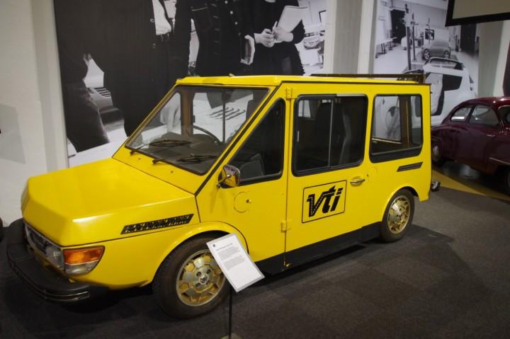 SAAB 99 Electric Van