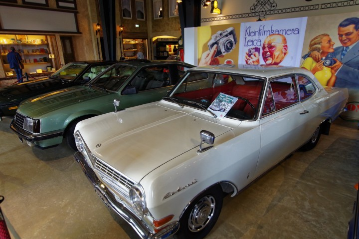 Opel Rekord RB Coupe